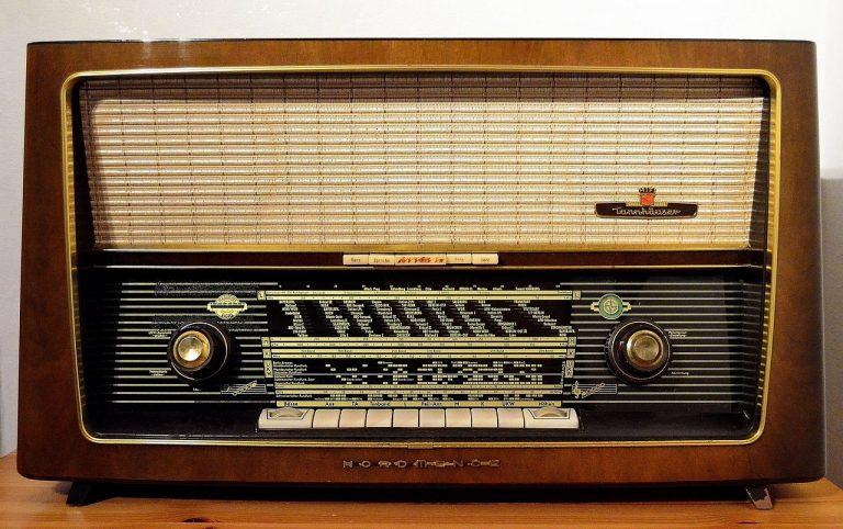 La musique à la radio est bonne.